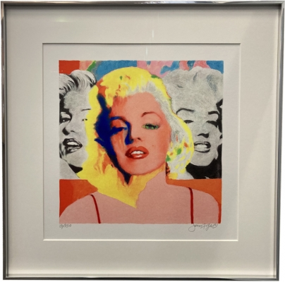 JAMES FRANCIS GILL: Mini Marilyn 3 Faces - Ausstellungs-Sonderpreis!