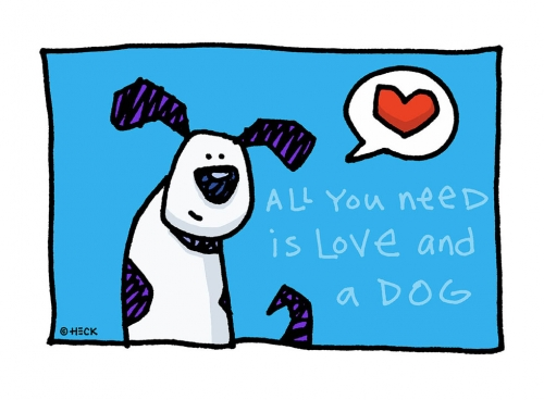 ED HECK: All You Need Is Love and a Dog