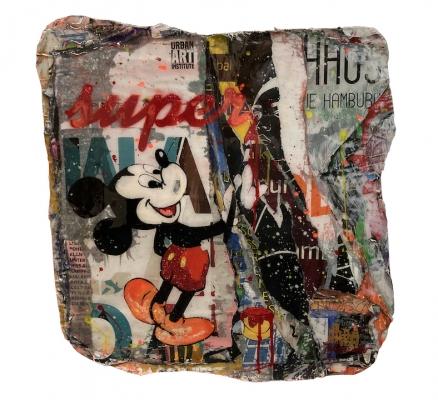 TANJA KIESEWALTER: Super Mickey (Unikat)