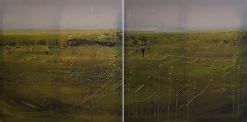 MARTHE: Landschaft, 2-teilig