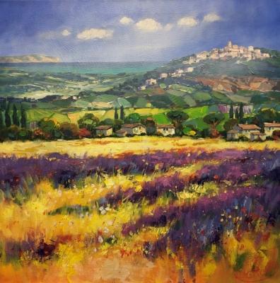 JEAN-CLAUDE PICARD: Lavendelfeld